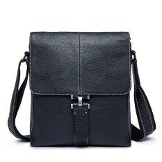 Beli Mens Kulit Asli Shoulder Bag Briefcase Messenger Bag Intl Lengkap