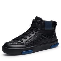 Beli Pria Santai Berkualitas Tinggi Boots Inggris Sepatu Fashion Kulit Sepatu Ankle Boots Intl Secara Angsuran