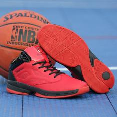 Pria Sepatu Berkualitas Tinggi Sepatu Basket Indoor (merah)-International