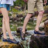 Beli Men S Hollow Sepatu Pull On Air Sepatu Beach Sepatu Wanita Hitam Biru Intl Oem Murah