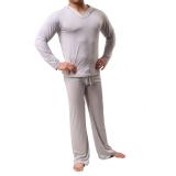 Harga Es Piyama Sutra Pria Celana Kelabu Branded