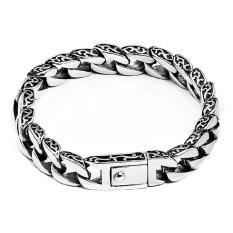Men S Jewelry Totem Men Bracelet Titanium Steel Gelang Pria Silver Dki Jakarta Diskon