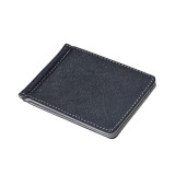 Beli Mens Kulit Silver Money Clip Slim Dompet Hitam Id Pemegang Kartu Kredit Abu Abu Not Specified Murah