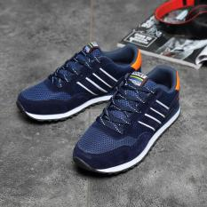 Beli Pria Rekreasi Fashion Outdoor Olahraga Sepatu Sneakers Navy Di Tiongkok