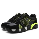 Beli Pria Tumit Rendah Olah Raga Sepatu Running Sepatu Pendakian Sepatu Cicilan