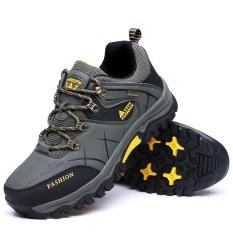 Toko Jual Pria Rendah Tahan Air Non Slip Sepatu Hiking Outdoor Climbing Hiking Sepatu Aiwoqi S953 Intl