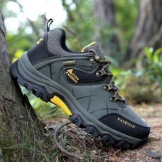 Men S Low Waterproof Non Slip Hiking Shoe Outdoor Climbing Hiking Shoes Aiwoqi S953 Intl Di Indonesia