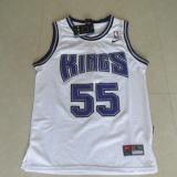 Toko Pria Nba Jason Williams 55 Sacramento Kings Basket Jersey Putih Intl Online Terpercaya