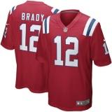 Promo Pria Nfl New England Patriots 12 Tom Brady Bernapas Berkualitas Tinggi Jersey Intl Akhir Tahun