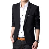 Mens Of Glamour Jas Modis Pria Maskulin Casual Jas Semi Formal Jas Black Diskon Akhir Tahun