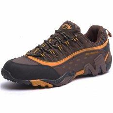 Jual Xbootsmalone Pria Tahan Air Sepatu Hiking Sepatu Climbing Outdoor Sepatu Gunung Coklat Online