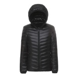 Jual Pria Packable Down Jacket Ultra Light Down Compact Hooded Mantel Intl Termurah