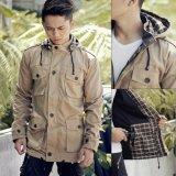 Jual Men S Parka Jacket Square Pattern Khaky Y Nkers Merch