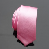 Jual Men S Pure Color Sempit Tie Pink 21 Internasional Branded