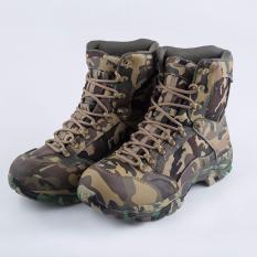 Toko Pria Rsc Kamuflase Sepatu Tempur Lace Up Desert Boots Militer Taktis Outdoor Pria Boots Intl Di Indonesia