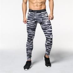 Tips Beli Men S Running Fitness Workout Legging Kompresi Base Layer Tights Intl