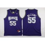 Jual Pria Sacramento Kings 55 Jason Williams Nba Basket Casual 2017 Gaya Baru Jerseys Intl Di Tiongkok