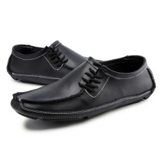 Jual Pria Sepatu Flat Shoes Fashion Silp Ons Kulit Sapi Casual Loafers Lazy Sepatu Intl Oem Asli