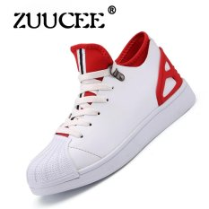 Jual Sepatu Pria Sepatu Korea Fashion Sepatu Kasual Sepatu Musim Semi Sepatu Sepatu Pria Sepatu Pria Merah Intl Tiongkok