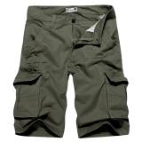 Harga Hemat Mens Shorts Charmkpr Haid Haid Warna Solid Panas Musim Pants Bang Pendek Kargo Hijau Tentara International