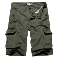 Jual Mens Shorts Charmkpr Haid Haid Warna Solid Panas Musim Pants Bang Pendek Kargo Hijau Tentara International Original