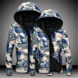 Pria Slim Kasual Kamuflase Hangat Jaket Padded Mantel Musim Dingin Parka Mantel Mantel Jaket Baru Internasional Oem Diskon 50