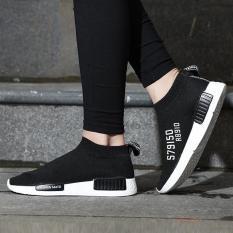 Jual Men S Snekaers Fashion Casual Shoes Mesh Shoes High Help Couple Shoes Intl Branded Murah