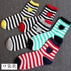 Toko Laki Laki Murni Kapas Kaus Kaki Empat Musim Deodoran Perahu Kaus Kaki Bagian Tipis Rendah Terlihat Warna Solid Menengah Sock 5 Pasang Kaos For Jual Intl Online Tiongkok