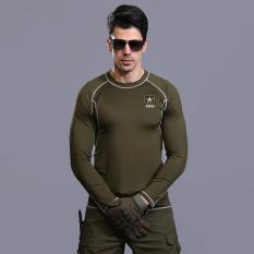 Harga Mens Soft Shell Waterproof Tentara Jaket Kolam Militer Mantel Windproof Olahraga Pakaian Tap