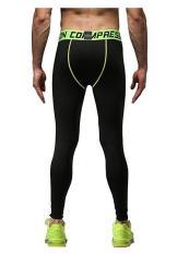 Harga Mens Sport Legging Kompresi Lapisan Dasar Celana Panjang Camo Celana Intl Origin