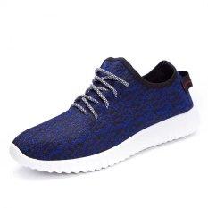 Harga Pria Olahraga Biru Tua Sepatu Kelapa Intl Branded