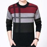 Beli Pria Sweater Cashmere Sweater Sweater Biru Tua Intl Murah