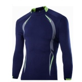 Harga Men S Tight Fitting Shirt T Shirt Navy Blue Xl Intl Terbaru