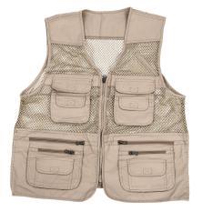 Harga Mens Utility Multi Pockets Hunting Memancing Menembak Hiking Vest Rompi Xxxxl Beige Yang Bagus