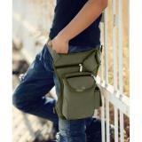 Harga Hemat Mens Waist Fashion Bag Tas Pinggang Pria Traveling Men S Sling Selempang Hijau Army