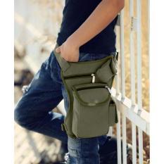 Spesifikasi Mens Waist Fashion Bag Tas Pinggang Pria Traveling Men S Sling Selempang Hijau Army Terbaik
