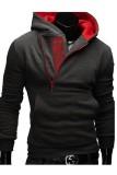 Ulasan Lengkap Tentang Ritsleting Memukul Pria Warna Baju Hoodie Sweatshirt Jas Jaket Abu Abu Merah