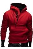 Diskon Produk Ritsleting Memukul Pria Warna Baju Hoodie Sweatshirt Jas Jaket Merah International
