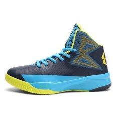 Jual Men Soutdoors Olahraga Basket Sepatu Fashion Sport Mahasiswa Sepatu Intl Di Bawah Harga