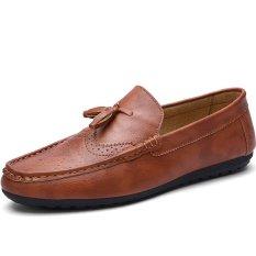 Toko Men Sshoes Flat Sepatu Fashion Silp Ons Casual Loafers Lazy Sepatu Intl Terlengkap Tiongkok