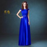 Harga Merah Baru Perjamuan Gaun Malam Baju Pelayanan Biru Navy Baju Wanita Dress Wanita Gaun Wanita Original
