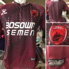 Merah Jersey Psm Makassar Home 2017 / 2018  Traveloka Liga 1