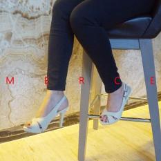 Isabel - Sepatu Wanita Hak Tinggi BRENDA Heels - Putih