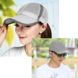 Spesifikasi Mesh Baseball Sunhat Ball Cap Visor Summer Cool Breathable Outdoor Sports Anti Uv Sun Hat Adjustable Snapback Tennis Golf Fishing Running Cycling Cap Sliver Intl Oem Terbaru