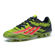 Messi F50 Messi F50 Mens Kids FG Football Shoes Soccer Cleats Soccer Boots Children Training Football Boots 33-44 (green)