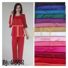 METRO STORE - Baju Tidur 2882 Kimono Set Celana Panjang Lingerie Piyama Satin