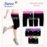Pusat Jual Beli Metro Store Celana Sport Ua 014 Pants 3 4 Legging Senam Yoga Gym Sorex Ua014 Jawa Timur