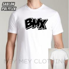 Mey Mey Clothing T-Shirt Unisex Lengan Pendek BMX
