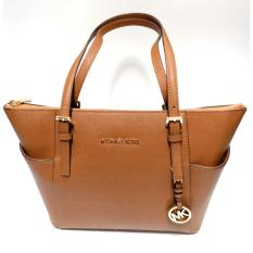 Michael Kors Jet Set East West Top Zip Tote (Luggage)