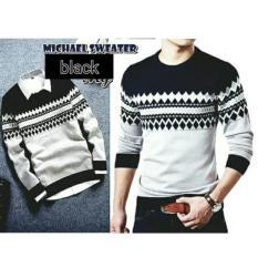 Jual Michael Sweater Black